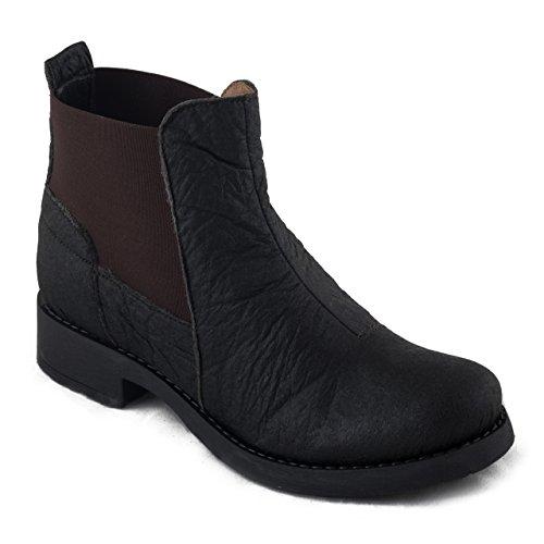 Nae Rakin - Veganer Damen-Stiefel in schwarz