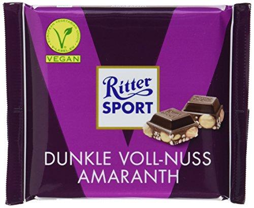 Ritter Sport Dunkle Voll-Nuss Amaranth, 100 g
