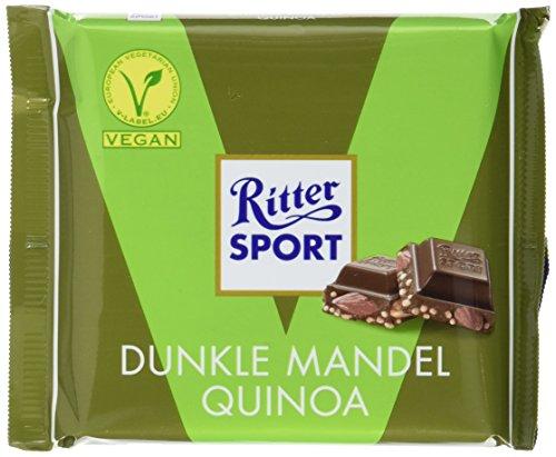 Ritter Sport Dunkle Mandel Quinoa, 100 g