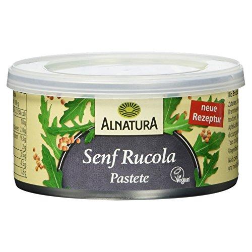 Alnatura Bio Pastete Senf-Rucola - 6 x 125g