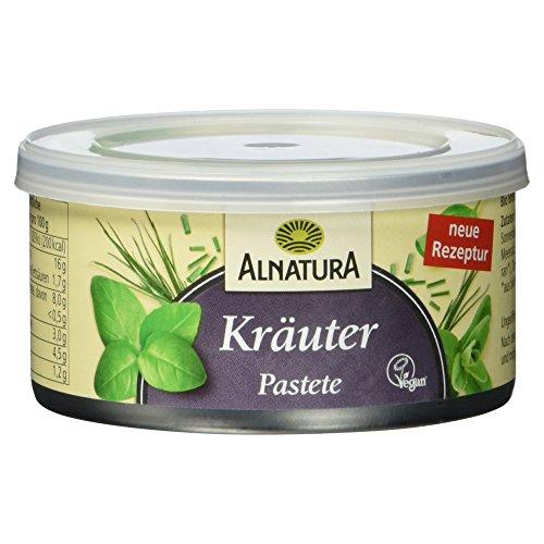 Alnatura Bio Pastete Kräuter - 125g