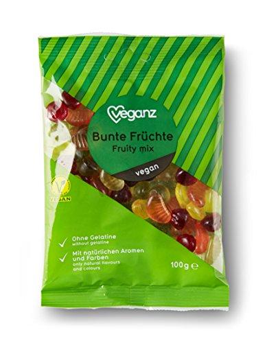 Veganz Bunte Früchte - vegane Fruchtgummi - 10 x 100g