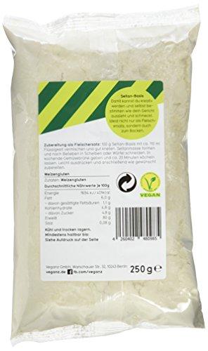 Veganz Seitan-Basis, 10er Pack (10 x 250 g) - 4