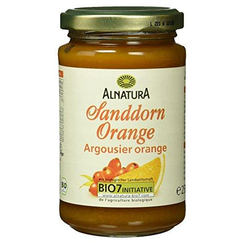 Alnatura Bio Fruchtaufstrich Sanddorn-Orange, vegan - 6 x 250g