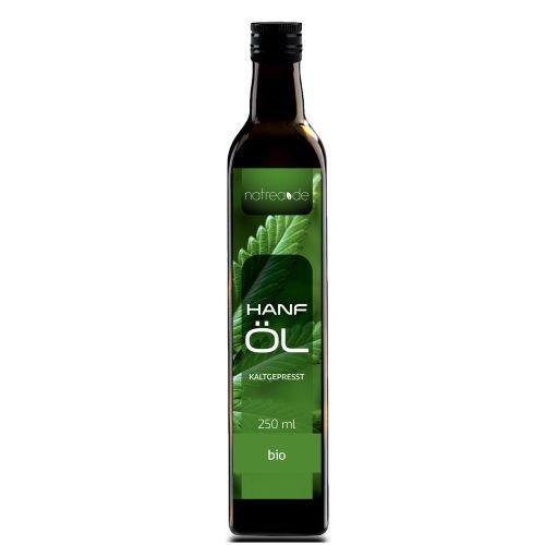 Natrea Bio Hanföl rein nativ - kaltgepresst aus 1. Pressung - 250 ml