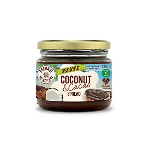 Coconut Merchant - natürliche Kokosnuss-Creme mit Kakao - 330g