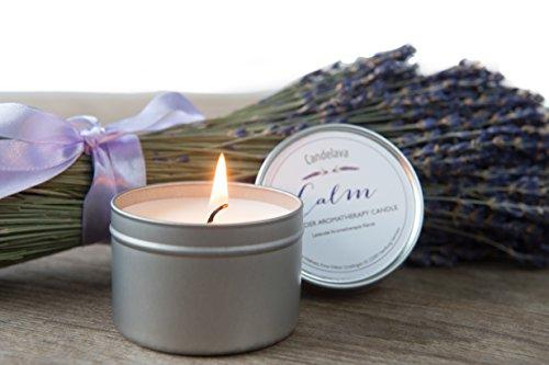 Candelava - Lavendel Bio-Aromatherapie Soja-Kerze in Dose