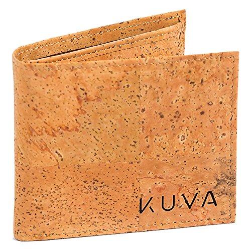 Kuva Amizade: veganes unisex Portemonnaie aus Kork mit Münzfach & Sichtfach - Amizade