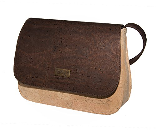 CorkLane Damen Handtasche aus Korkleder - vegan - made in Portugal