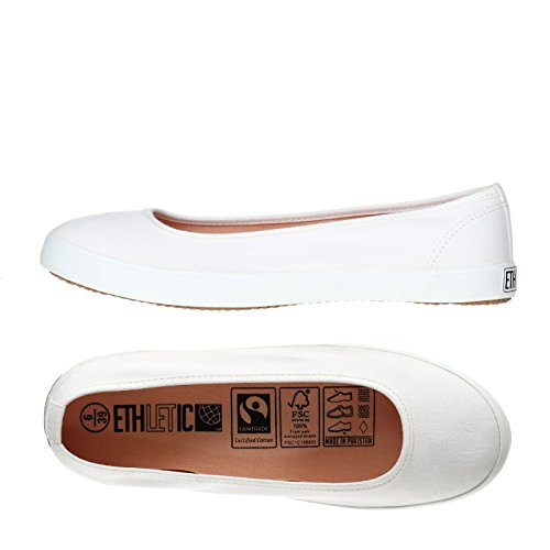 Ethletic Fair Dancer Collection 17 - just white aus Bio-Baumwolle - deine fair trade Öko-Schuhe