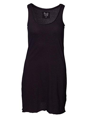 DAILY'S KLEOPATRA Unterkleid mit Rundhalsausschnitt aus Bio-Baumwolle - schwarz