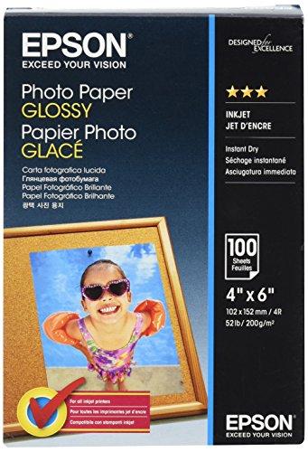 EPSON Fotopapier glänzend 100x150mm 100 Blatt
