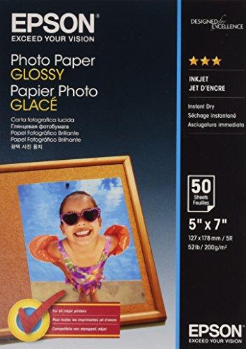 EPSON Fotopapier glänzend 200g/m² 130x180mm 50 Blatt