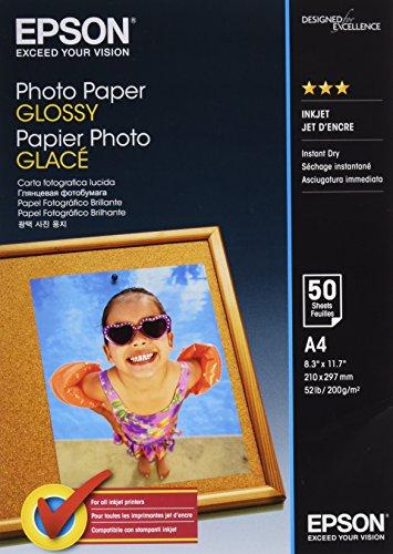 EPSON Foto-Papier glänzend A4 50 Blatt