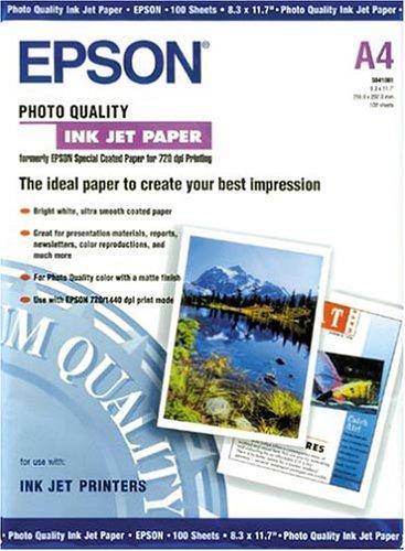 Epson Fotopapier matt - Inkjet 104g/m2 A4 100 Blatt