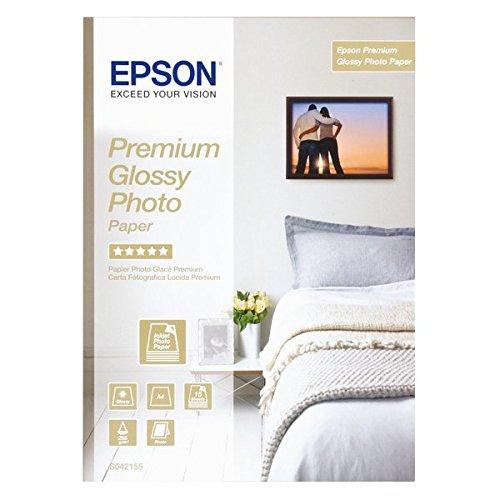 Epson Premium hochglanz Fotopapier - inkjet 255g/m2 A4 15 Blatt - C13S042155