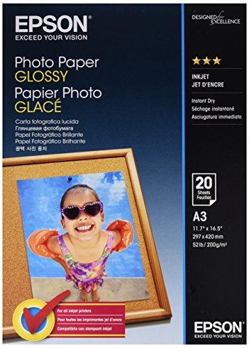 EPSON Fotopapier - hochglanz - A3 20 Blatt