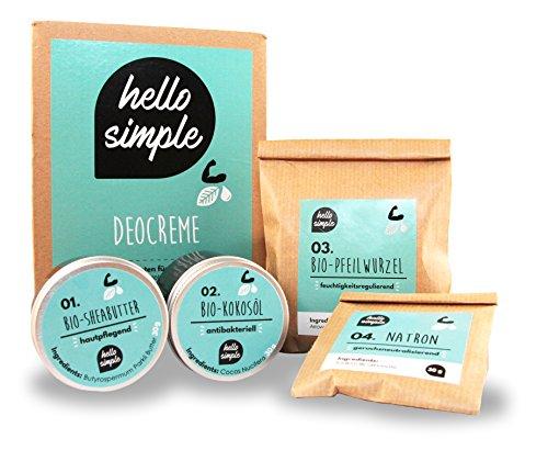 hello simple - DIY Deocreme/Creme Deodorant zum Selbermachen