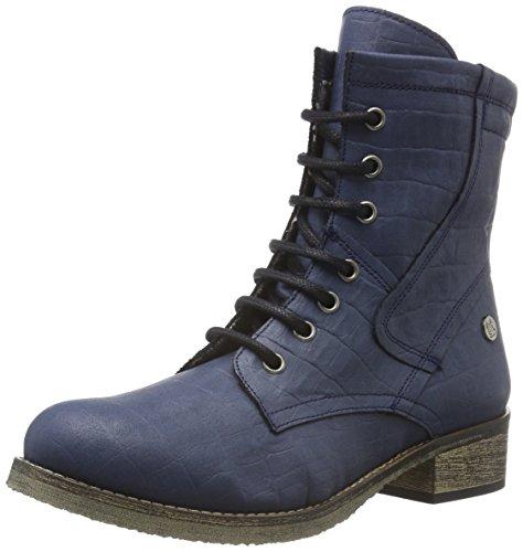 Jonny´s Vegan Dagrun Combat - Damen-Boots, blau Gr. 42 EU