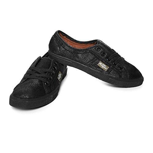Jonny's Vegan Damen-Sneaker - schwarz