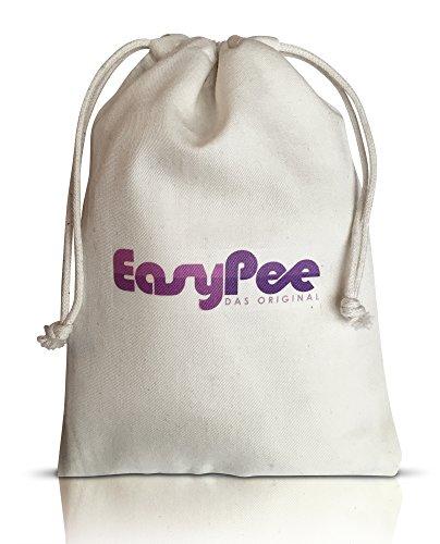 EasyPee Frauenurinal für unterwegs - Stehpinkler inkl. Beutel - Frauen pinkeln im Stehen - Pinkelhilfe - 5
