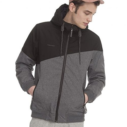 Ragwear Wings - Herren-Windbreaker - schwarz