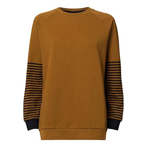 THOKKTHOKK Damen Sweatshirt, olivgrün - bio & fair