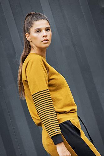 THOKKTHOKK Damen Sweatshirt Olivgrün Bio Fair, Größe:L - 2