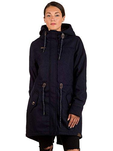 Ragwear Elba Coat, Navy Melange