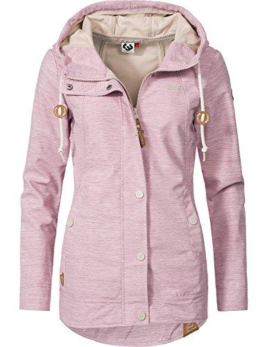 Ragwear Damen Übergangsjacke Enrica - Pink