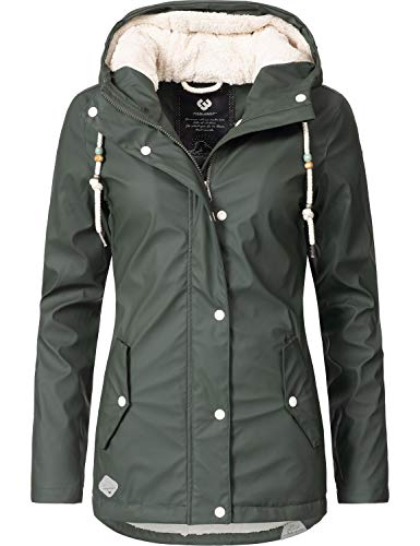 Ragwear Damen Wintermantel Marge