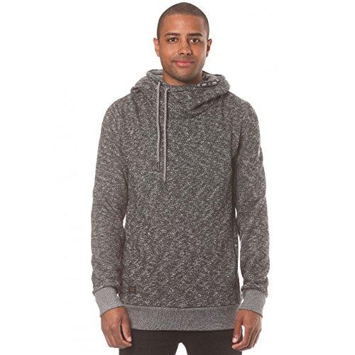 Ragwear BEAT MENS - Herren-Pullover mit Kapuze - grau