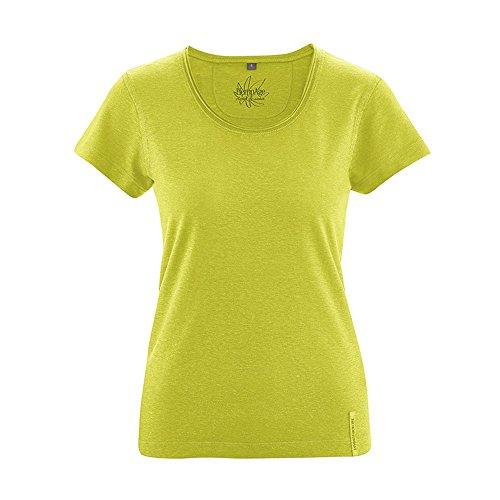HempAge Breeze - Damen T-Shirt aus Bio-Baumwolle & Hanf