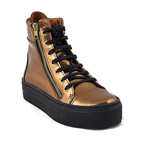 Nae Ibiza Gold - vegane Damen-Sneakers / High-Sneaker
