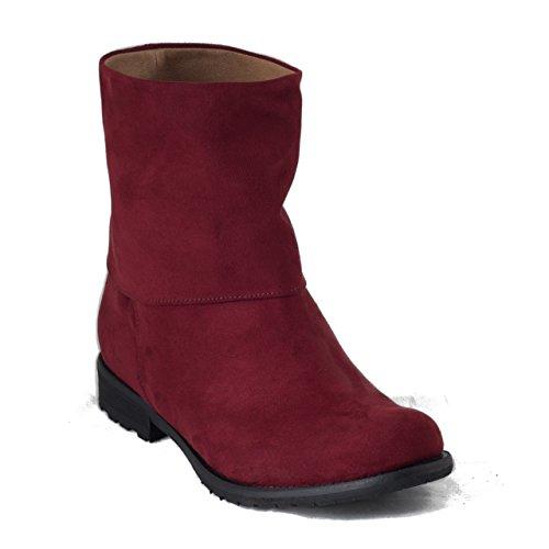 Nae Mira Rot - vegane Damen-Stiefel / Boots