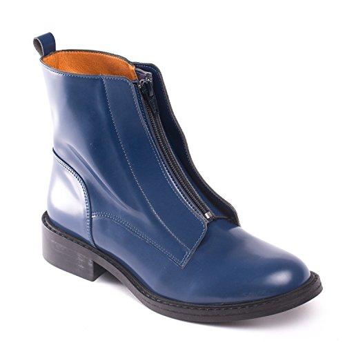 NAE Zipme Blau - vegane Damen-Stiefel / Boots