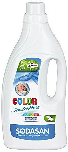 SODASAN Color sensitiv Flüssigwaschmittel - Bio - 1,5 Liter