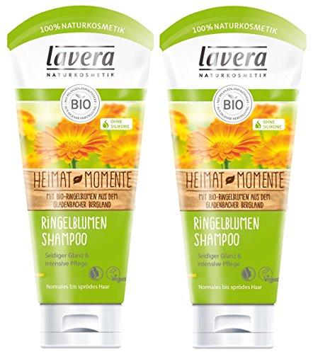 lavera Haar Shampoo Ringelblume - Bio-Shampoo - 2 x 200ml