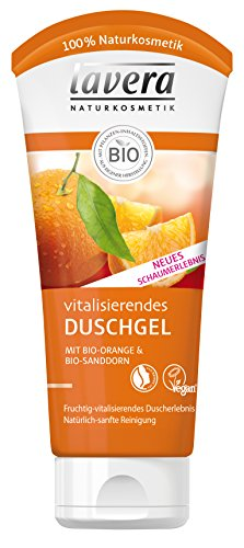 lavera Vitalisierendes Duschgel Bio Orange - 4 x 200ml