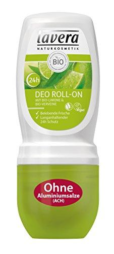 lavera Deo Roll On 24h Bio Limone - Deodorant ohne Aluminium
