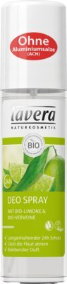 LAVERA Deo Spray Bio-Limone + Bio-Verveine 75 ml Deospray
