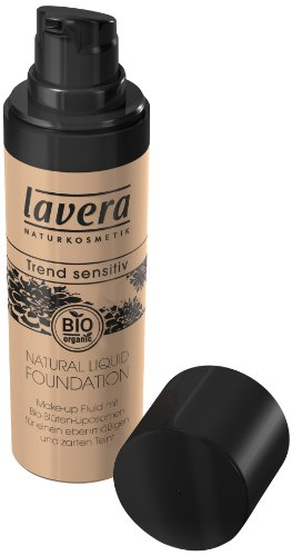 Lavera Natural liquid Foundation Make up - Ivory 02 - 30 ml