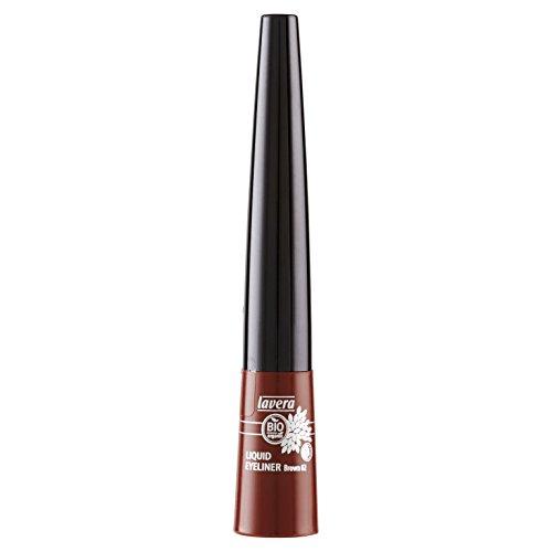 lavera Liquid Eyeliner Brown 02 / braun - Kajal flüssig Liner