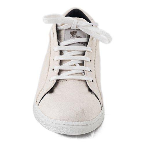 Nae Basic White - Sneaker, der aus Dem Innovative Obermaterial Piñatex, Einem Stoff, der aus Den Blättern der Ananas Hergestellt Wird - vegane Schuhe (41) - 3