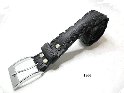 Handgemachter Unisex-Gürtel aus recyceltem Fahrradreifen