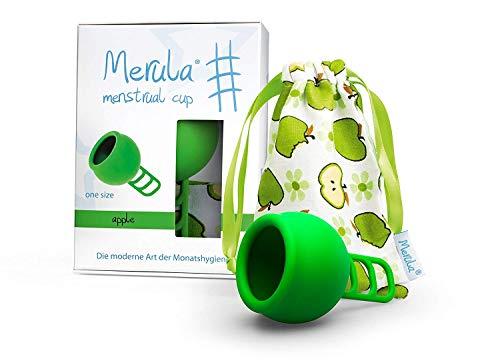 Merula Menstruationstasse - Apfelgrün
