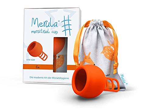 Merula Cup Menstruationstasse - Orange