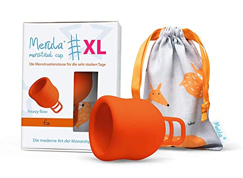 Merula Cup XL Menstruationstasse - Orange