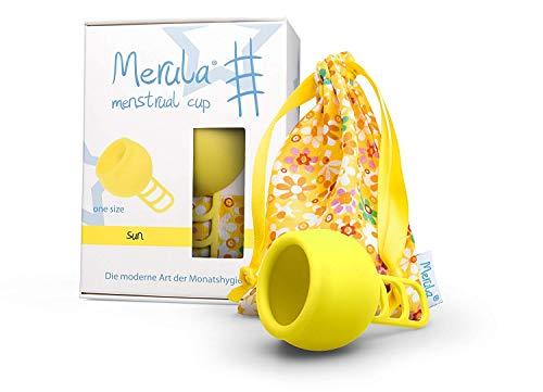Merula Cup Menstruationstasse - gelb
