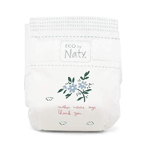 80 St/ück insgesamt 11-25 Kg Gr/ö/ße 5 Eco by Naty Premium Bio-Windeln f/ür empfindliche Haut 2 Packungen /à 40 St/ück wei/ß